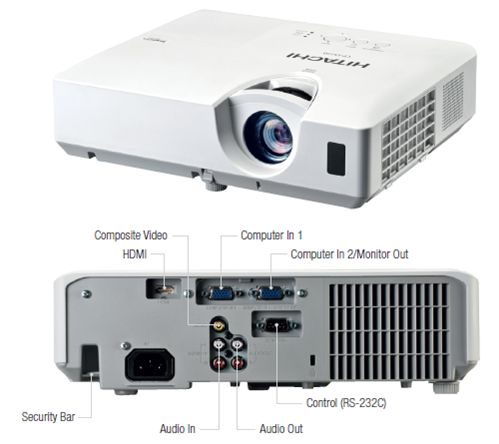 Hitachi-CP-EX250-Projector