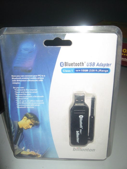 BLUETOOTH 100 MTR USB ADAPTER