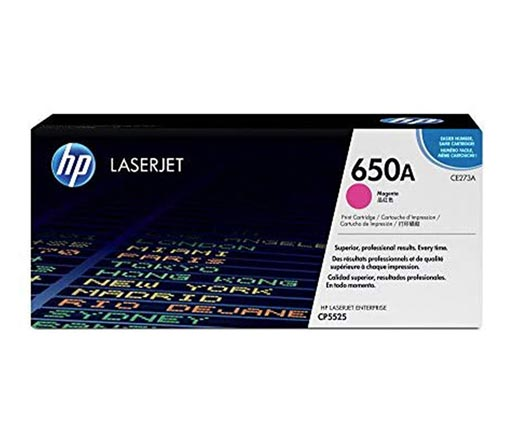 HP 650A Magenta Toner Cartridge