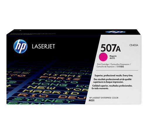 HP 507A Magenta Toner Cartridge
