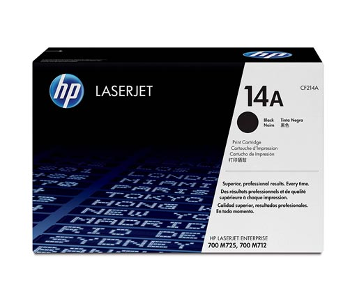 HP 14A Black Toner Cartridge CF214A