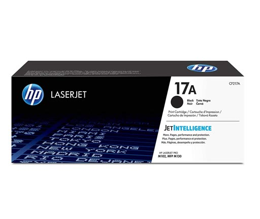 HP 17A Black Toner Cartridge CF217A