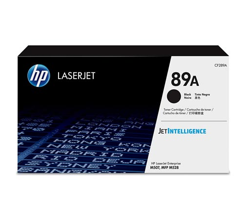 HP 89A Black Toner Cartridge CF289A