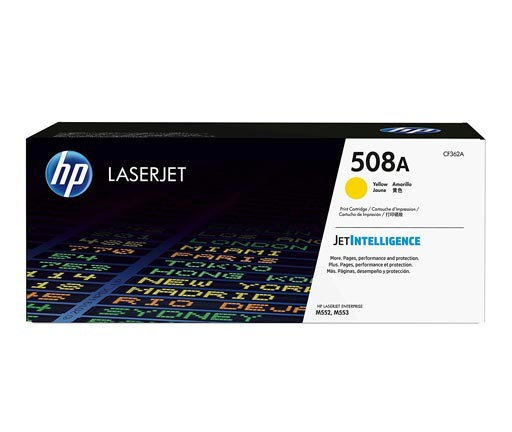 HP 508A Yellow Toner Cartridge CF362A