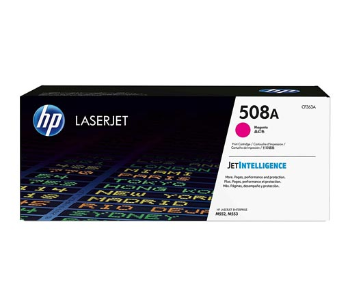 HP 508A Magenta Toner Cartridge