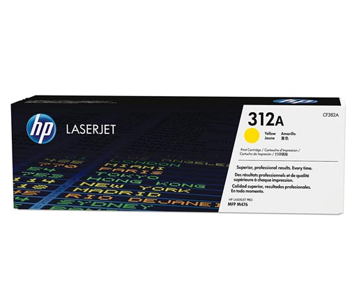 HP 312A Yellow Toner Cartridge CF382A
