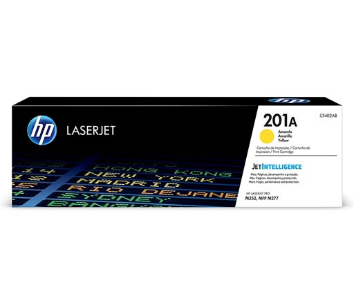 HP 201A Yellow Toner Cartridge CF402A