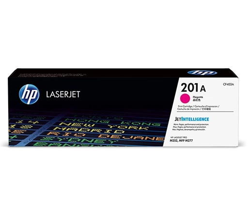 HP 201A Magenta Toner Cartridge