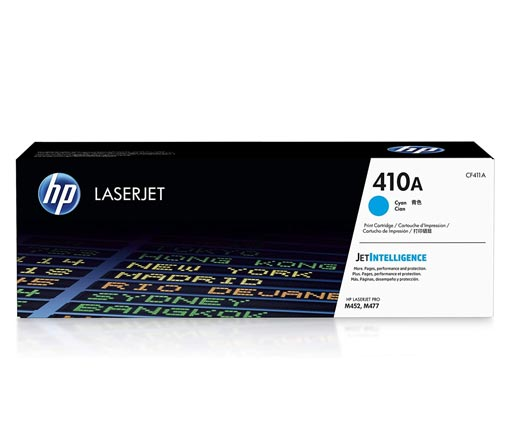 HP 410A Cyan Toner Cartridge CF411A