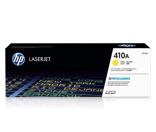 HP 410A Yellow Toner Cartridge CF412A