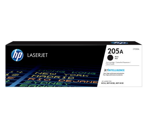 HP 205A Black Toner Cartridge CF530A
