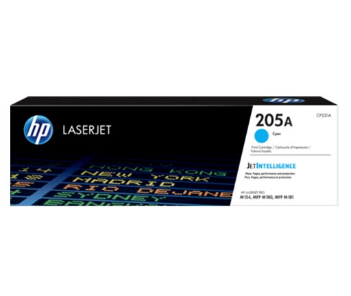 HP 205A Cyan Toner Cartridge CF531A
