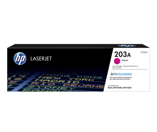 HP 203A Magenta Toner Cartridge