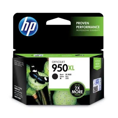 HP 950 XL Black Ink Cartridge, CN045A