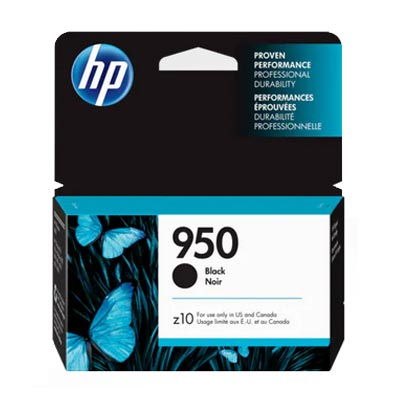 HP 950 Black Ink Cartridge, CN049A