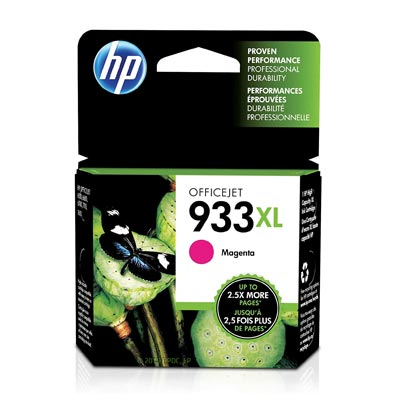 HP 933 XL Magenta Ink Cartridge, CN055A