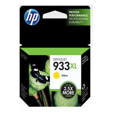 HP 933 XL Yellow Ink Cartridge, CN056A