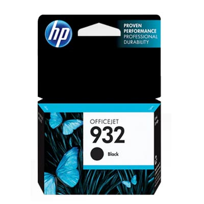 HP 932 Black Ink Cartridge, CN057A