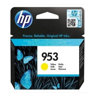 HP 953 Yellow Ink Cartridge, F6U14A