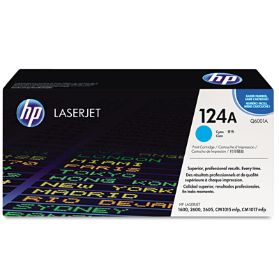 HP 124A Cyan Toner Cartridge Q5949A