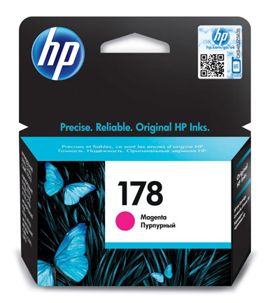 HP 178 Magenta Ink Cartridge CB319HE