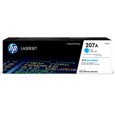 HP 207A Cyan Toner Cartridge W2211A