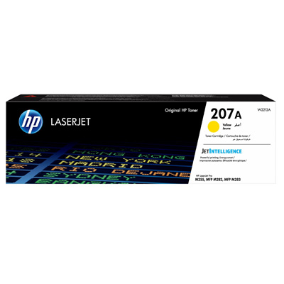 HP 207A Yellow Toner Cartridge W2212A