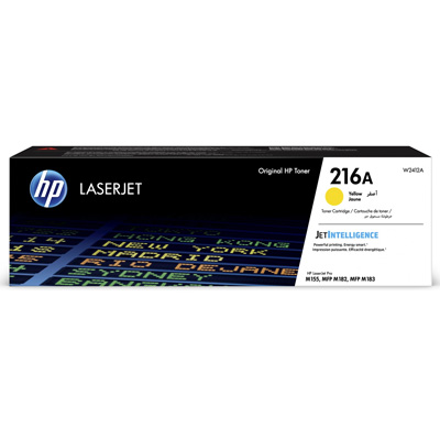 HP 216A Yellow Toner Cartridge W2412A