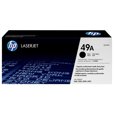 HP 49A Black Toner Cartridge Q5949A