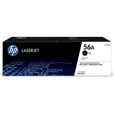 HP 56A Black Toner Cartridge CF256A