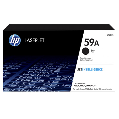 HP 59A Black Toner Cartridge CF256A