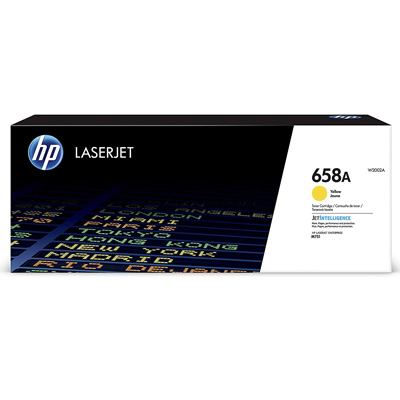 HP 658A Yellow Toner Cartridge W2002A