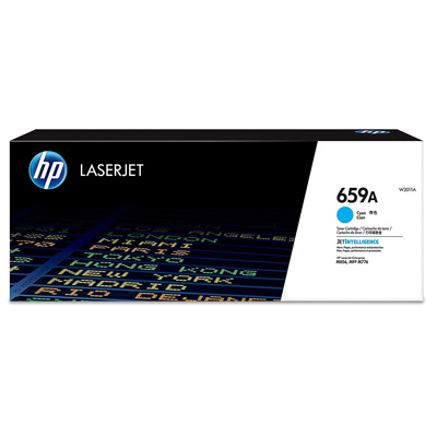 HP 659A Cyan Toner Cartridge W2011A