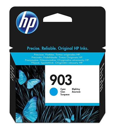HP 903 Cyan Ink Cartridge T6L87AE