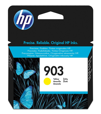 HP 903 Yellow Ink Cartridge T6L95AE