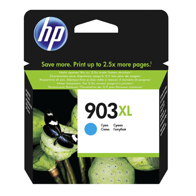 HP 903XL High Yield Cyan Ink Cartridge