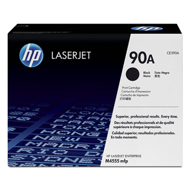 HP 90A Black Toner Cartridge CE340A