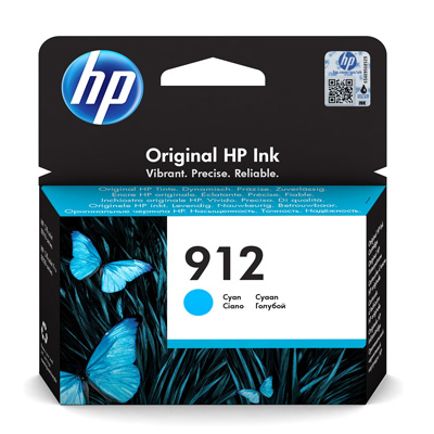 HP 912 Cyan Ink Cartridge 3YL77AE