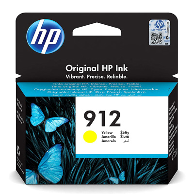 HP 912 Yellow Ink Cartridge 3YL79AE
