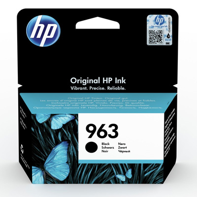 HP 963 Black Ink Cartridge 3JA26AE