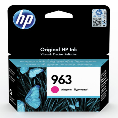 HP 963 Magenta Ink Cartridge 3JA24AE