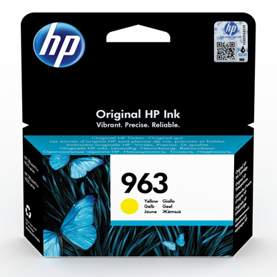 HP 963 Yellow Ink Cartridge 3JA25AE