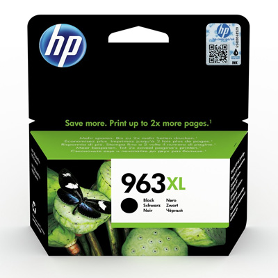 HP 963XL Black High Yield Ink Cartridge
