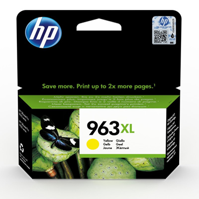 HP 963XL Yellow High Yield Ink Cartridge