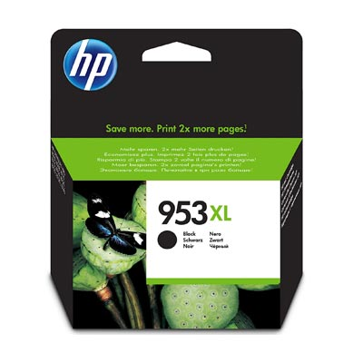 HP 953XL Black Ink Cartridge, L0S70A
