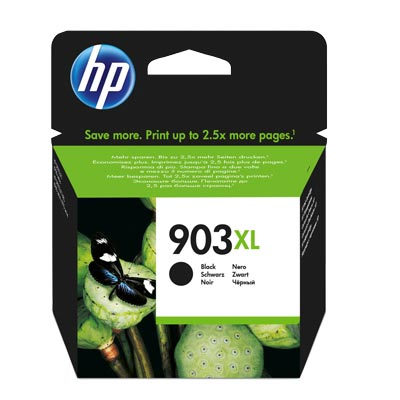 HP 903 XL Black Ink Cartridge T6M15AE