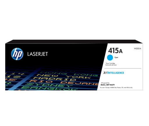 HP 415A Cyan Toner Cartridge W2031A