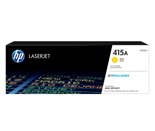 HP 415A Yellow Toner Cartridge W2032A